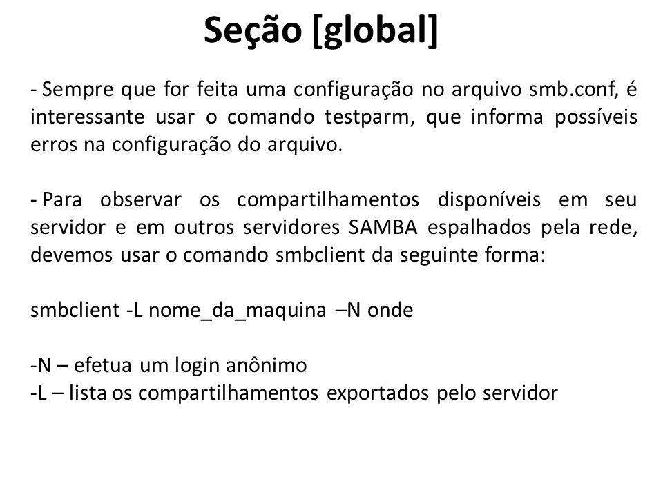 Seção [global]